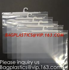 China Hanger Button Bag Hanger Zipper Bag Hanger Ziplock Bag Hanger Packaging Bag With Snap Button Waterproof Bag For Swimsuit supplier