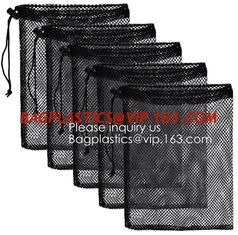 China Mesh Laundry Bag Heavy Duty Drawstring Bag, Factories, College, Dorm, Travel Apartment Blouse, Hosiery, Stocking, Underw supplier