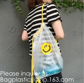 China Drawstring Bag with Cord Lock and White Sturdy Mesh Material for Factories, College, Dorm, Storage Sturdy & Breathable supplier