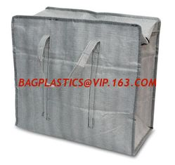 China Customized PP Woven Packing Bags eco friendly recycle reusable pp woven shopping bag polypropylene Moving Supplies, Clot supplier