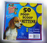 Doggie Poop Mittens With Handles,Disposable Pet Supplies,Bags With Dispenser, Dog Waste Bags, Poop Mittens, Pet Bag, Lit