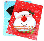 China Christmas Fancy Gift Poly Bag /drawstring santa sack bag, decoration bags, jumbo bags, giant gift bags, Christmas bags company