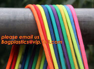 Best quality Green amusement equipment polyester rope 5mm nylon braided rope