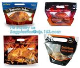China Hot roast chicken bag/hot roast plastic packaging bag for duck,chicken,fish, Fried Chicken Packaging Clear Microwaveable factory