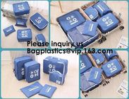 Polyester Travel Packing Cubes For Male And Female, Luggage Organizer,Packing Cubes Medium/Small Luggage Packing Travel