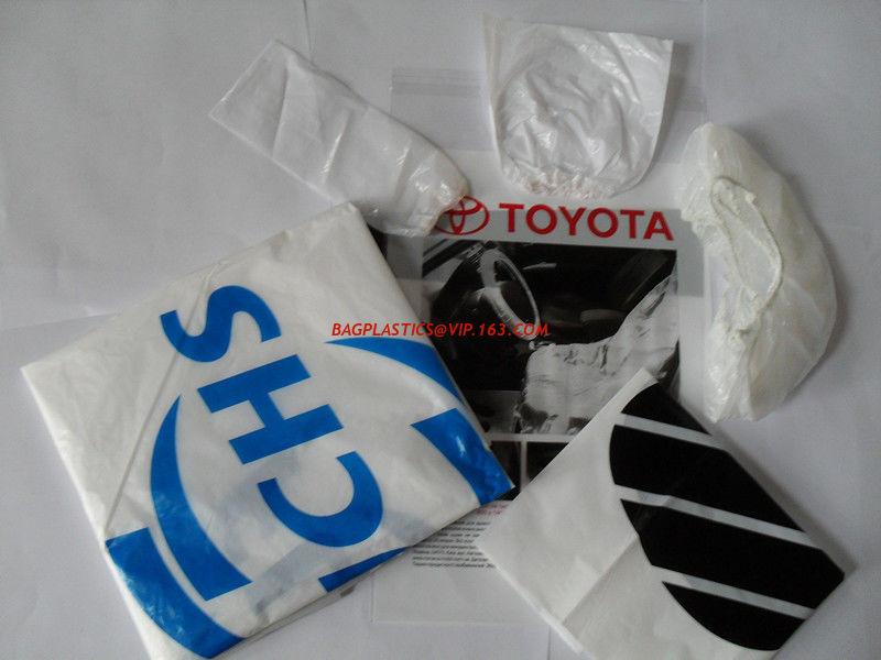 Disposable Car Seat Cover Disposable Cover Pe Car Foot Mat Gear