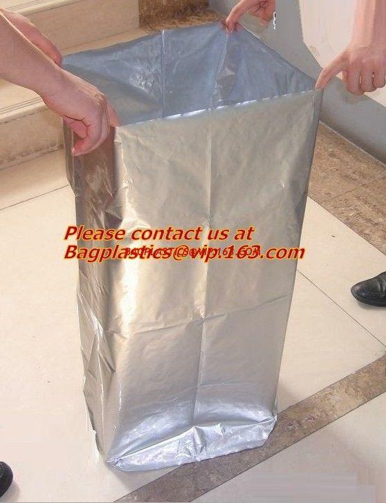 bulk plastic waterproof zipper bags, ziplock aluminum foil bag