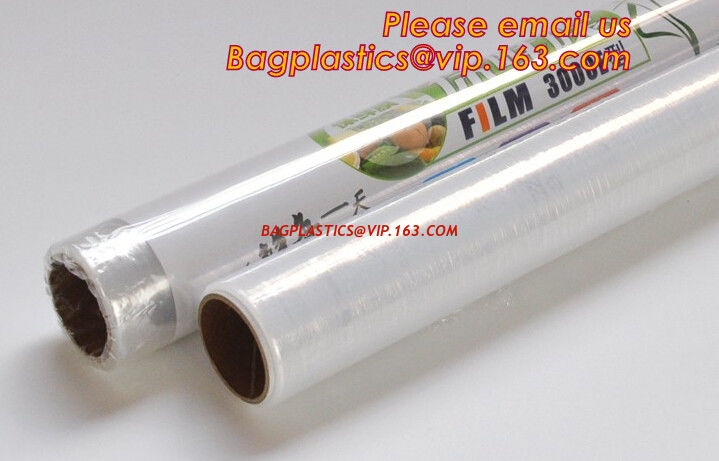 Transparent PVC cling film for food wrap, Safe and Fresh