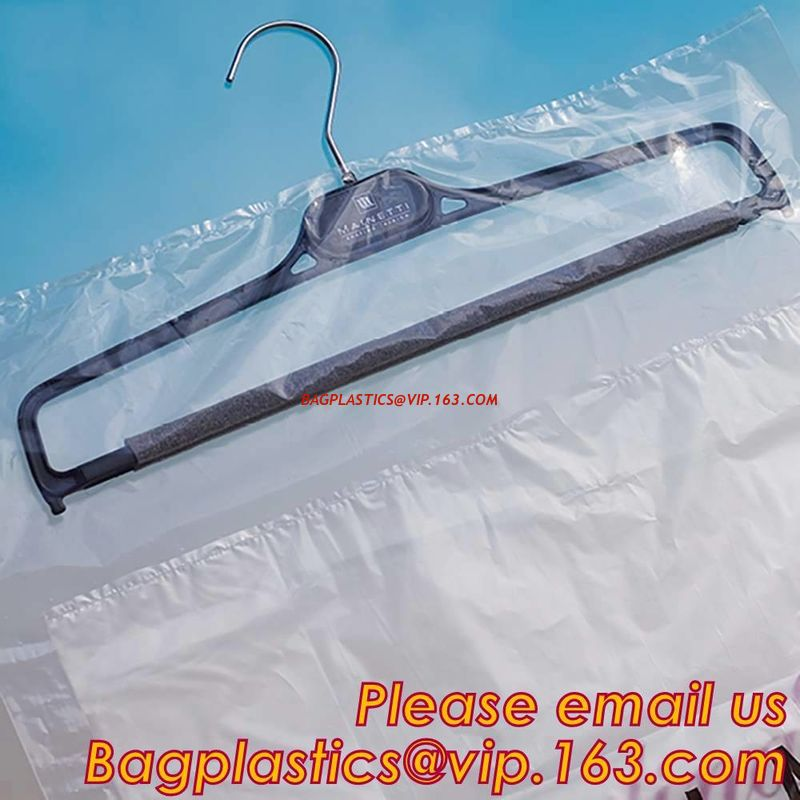 4b0055a1772 China Clear poly laundry plastic roll dry cleaning bags for packing  shirts