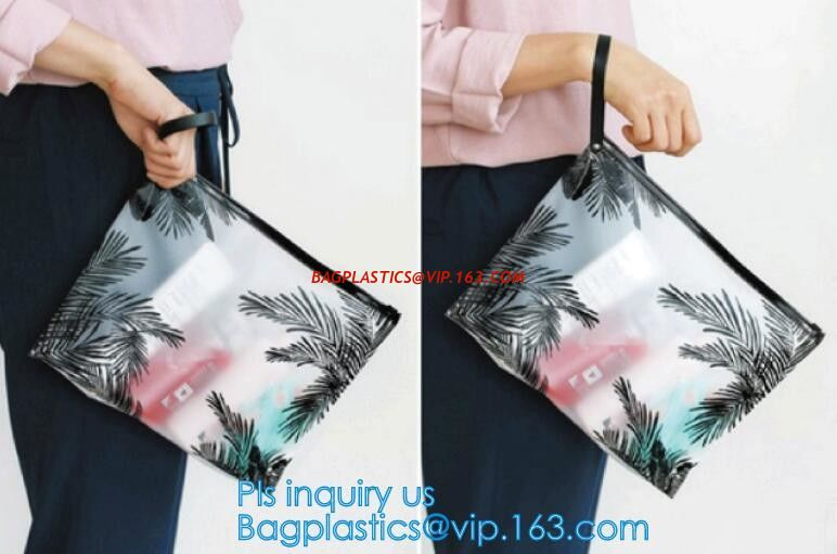 29a6355d8563c China Custom waterproof pvc slider zipper wet bikini bag