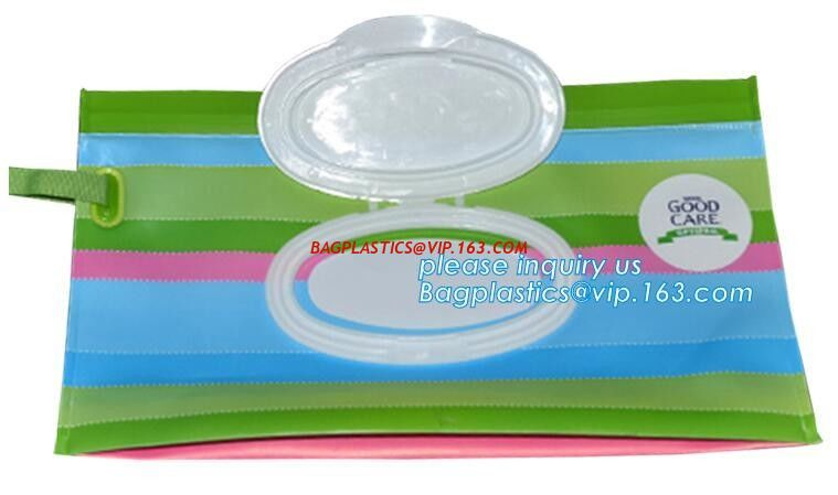 Travel Wipes Case Reusable Wet Wipe Bag Travel Wipes