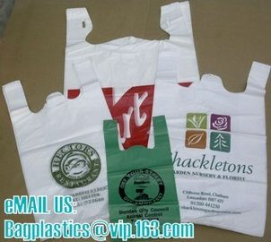 T shirt bags, vest carrier, carrier bags, shopping bags, shopper, handy bags, handle bags