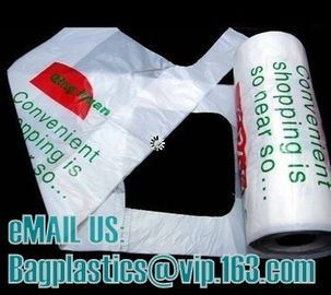 T-shirt bags, vest carrier, carrier bags, shopping bags, shopper, handy bags, handle bags
