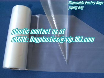 PASTRY bags, piping bags, wickted bags, gloves, foil, aluminium, apron, seafood bags