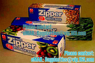Zipper Seal Sandwich Bag / 50 ct. 1.2 mil, minigrip, Ziploc, American value, drug store