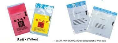 Adhensive Biohazard bags, deposit bag, coin bag, bank supplies, self seal bag, adhensive