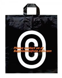 cheap Plastic bags for shopping: Plastic soft loop handle bag, shopping used soft loop han