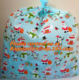 waterproof outdoor road bicycle bags, bicycle gift bags, bike bags, Giant Santa Sack for Christmas Gift Packing