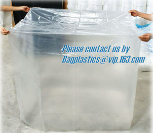 Pallet Top Cover Sheet, LDPE bag Large square bottom bag on roll pallet cover bag, HDPE Pallet Cover Sheet
