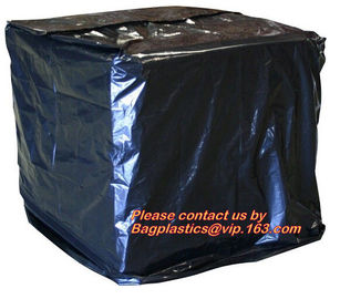 Reusabe PVC Tarpaulin Cover,Heavy Duty Plastic PVC Pallet Cover Tarp, Duarable recylable 100% virgin PE material stretch