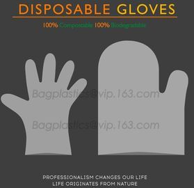 Wholesale disposable gloves, plastic gloves, biodegradable gloves, compostable gloves, bio gloves, corn starch gloves
