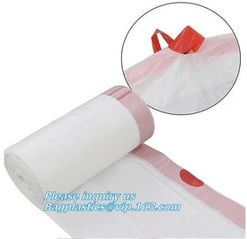 drawstring trash bags on roll disposable bag in compostable, Eco-friendly Roll Drawstring Compostable Biodegradable Garb