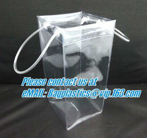 China wine bags, wine handle bags, wine holder, bottle bags, cylinder bag, PVC case, PVC ruler, PVC gusset bag, pipe handle ba factory