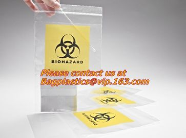Biodegradable Biohazard Specimen Bag, Biohazard Specimen Transport Bag, Medical Grade Laboratory Specimen Bag, bagplasti