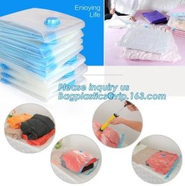 China vacuum storage bag set, plastic nylon pe vac bag for travel, ziplocK clothes storage bags vacuum, bagplastics, bagease factory