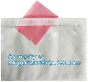 China big size poly packing list envelop with pocket, PACKING LIST ENCLOSED FOR MAILING BAGS, SELF ADHESIVE PACKING LIST FLAT factory