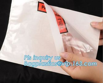 China dhl packing list envelope flyer express courier envelope bags, postage packaging post mail bags, plastic adhesive packin factory