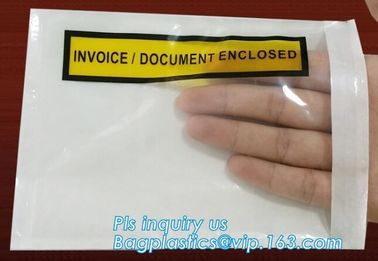 China Clear Adhesive Back, Packing List / Shipping Label Envelope Pouches, seal envelope courier bag express custom mailing ba factory