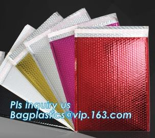 China Custom Padded Envelope Jiffy Bags Tear Proof Pink Kraft Paper Air Bubble Mailers Manufacturer, Bubble Mailers Bags Paper factory