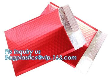 China Factory customized waterproof poly mailers bubble padded envelope mailing bags for present shipping, bagplastics, bageas factory