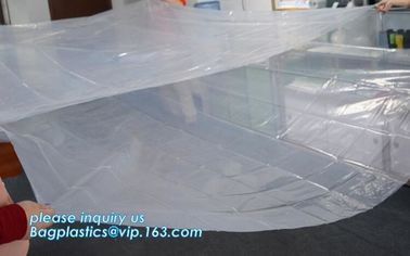 Jumbo Dustproof Plastic Mattress Cover, Durable Queen Size Plastic Mattress Cover for Storage, Anti-allergen waterproof