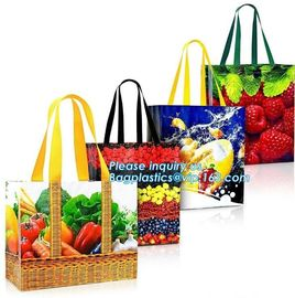 Chinese suppliers custom printed shopping portable hand non woven bag with print logo, Promotional Cheap Customized Recy