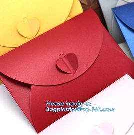 China Matt colorful card paper envelope A4 A5 B5 C5 C6 A3 size with custom logo printing color foil rose gold stamping silver factory