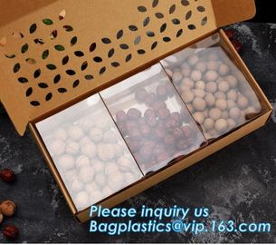 paper nut packaging box,Corrugated Bolt And Nut Packaging Box,Kraft Paper gift box with clear pvc window stand up for ca