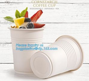 New products cornstarch plastic 12oz nature biodegradable drinking cup,Disposable cups plastic biodegradable cups PLA pa