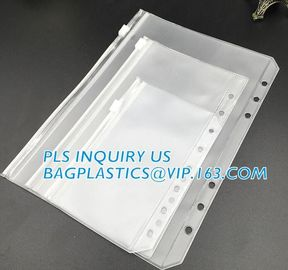 China Biodegradable Page Banknotes Postage Stamp Pockets Transparent PVC Money Album Loose-leaf Sheet Holders page bags holder factory