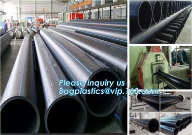 China HDPE WATER SUPPLY PIPE,PE PIPE,BLACK PIPE,WHITE PIPE,20mm to 1000mm hdpe pipe for water supply and irrigation,Plastic Pi factory