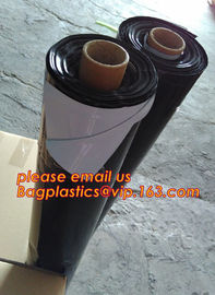 China Custom biodegradable agriculture plastic mulch film,tubular roll with black colour for agricultural mulch film BAGEASE factory