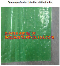 Perforated Black Agricultural Mulch Film for Weed Control Membrane,Pre-stretch Perforated UV Resistant Agriculture Film