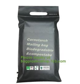 China cornstarch made biodegradable custom printed plastic mailing bags,China Supplier Custom biodegradable courier bag biogra factory