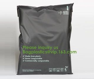 China 100% compostable courier envelopes ups plastic padded colorful mail bags for packing with different size biodgeradable factory