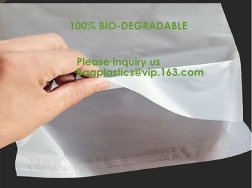 China Biodegradable compostable plastic courier shipping envelope custom 10x13 matte black poly mailers bag bagplastics bageas factory