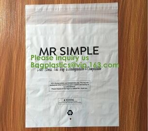 China Let us Fight plastic together, 100% compostable mailing bag,custom biodegradable mailing bag courier bag for cloth shoeb factory