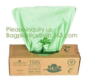 China eco friendly compostable biodegradable plastic t-shirt shopping bags,Recycle kitchen the pack 100 biodegradable cornstar factory