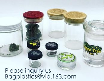 China Glass Jar 3ml,5ml,7ml,10ml,15ml,30ml Storage Bottles & Jars, Small Glass Jars Containers Silicone,Plastic,Bamboo,Glass factory