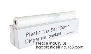 China Automotive Interior Protection Seat-Mate Roll of 200 Disposable Plastic Seat Cover,Automotive Interior Protection, bagea factory